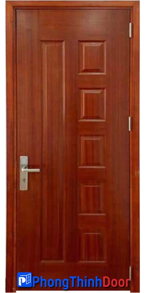 cửa gỗ phòng ngủ hdfv 6b