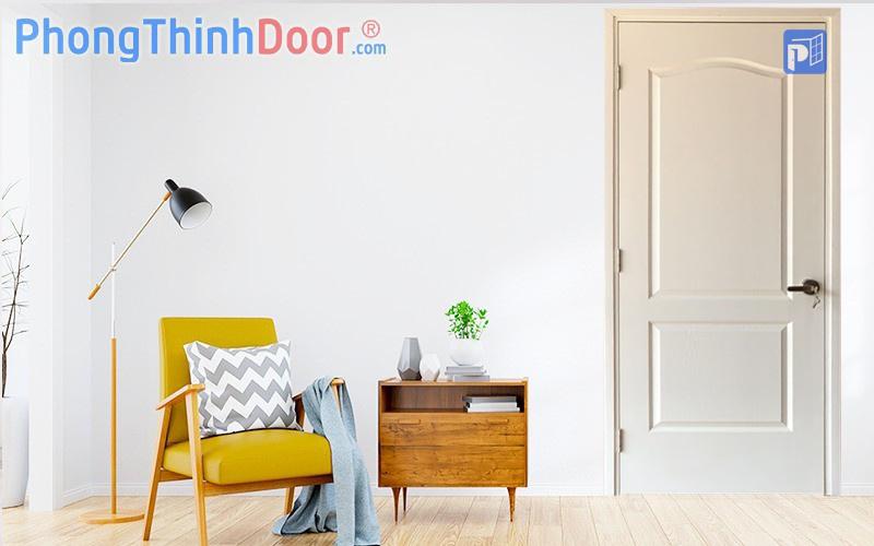 cửa gỗ màu trắng