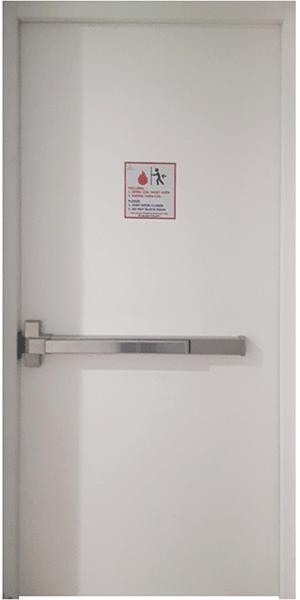cửa thép chống cháy p1-w