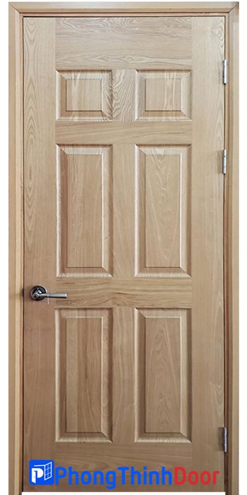 cửa gỗ phòng ngủ hdfv 6a