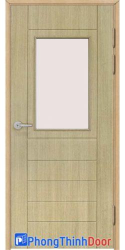 cửa nhựa giả gỗ toilet