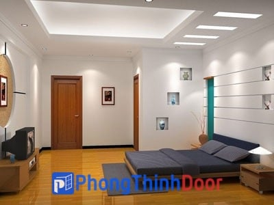 cửa gỗ phòng khách