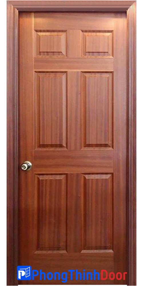 cửa gỗ giá rẻ HDF 6a
