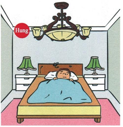 kiêng kỵ trong phòng ngủ