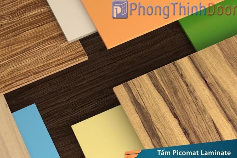 Tấm nhựa Picomat có nhiều màu sắc khác nhau nên phù hợp với nhiều loại công trình