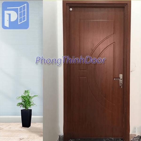 Cửa toilet nhựa giả gỗ Sungyu