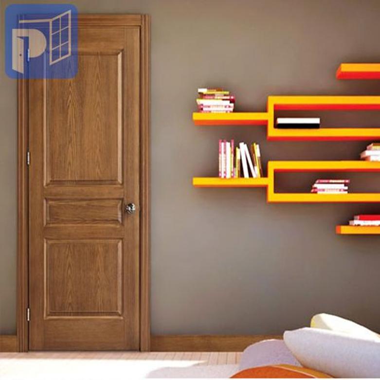 Sử dụng cửa gỗ cho phòng ngủ giúp tăng thêm sự sang trọng và ấm cúng