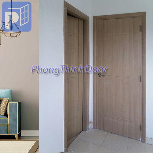 Cửa phòng ngủ nhựa ABS giả gỗ