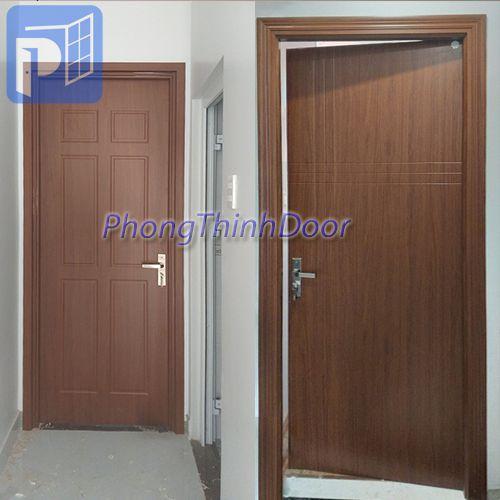 giá cửa gỗ nhựa composite