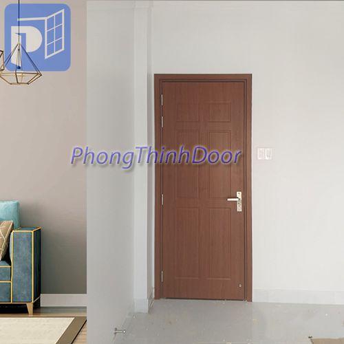 cửa gỗ nhựa phòng ngủ
