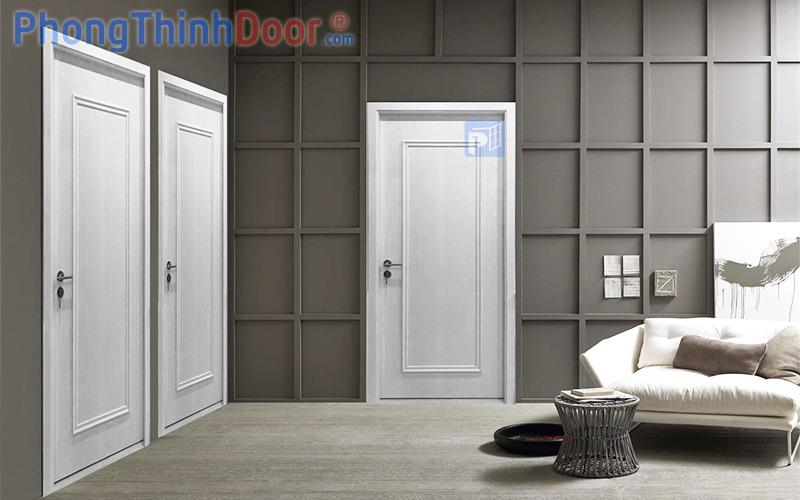 cửa gỗ nhựa composite 63NN