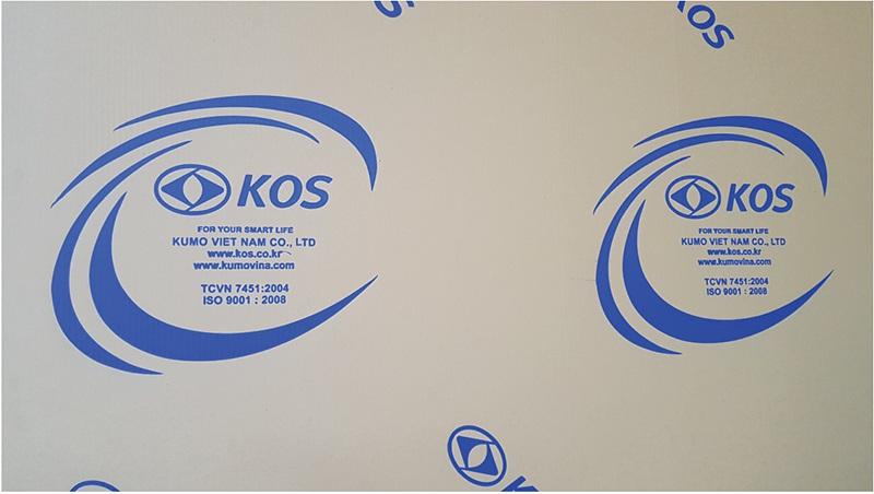 Bao bì cửa nhựa Hàn Quốc KOS