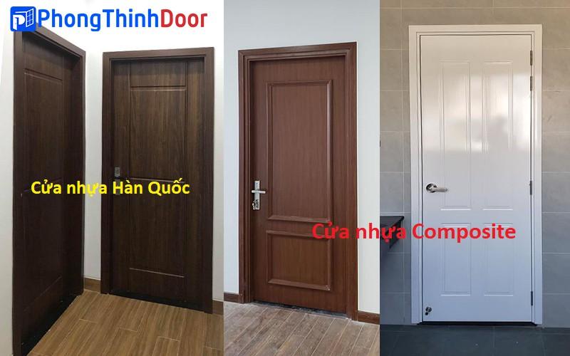 phân biệt cửa nhựa hàn quốc và cửa nhựa composite
