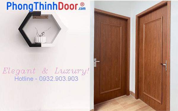 mẫu cửa gỗ composite giả gỗ