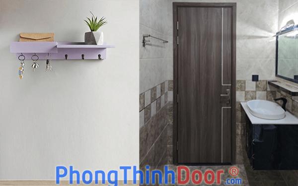 cửa gỗ nhà vệ sinh