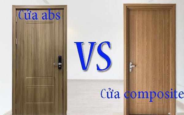 so sánh cửa nhựa abs và composite