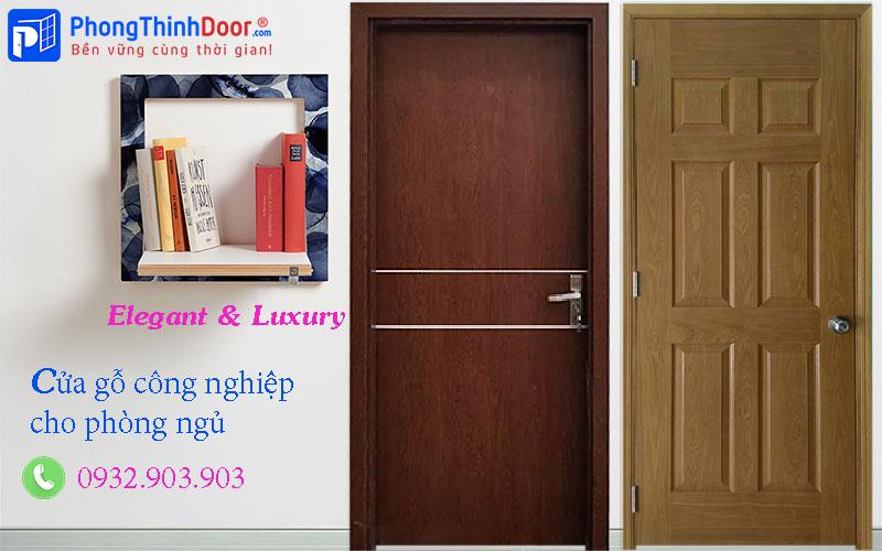 cửa gỗ công nghiệp phòng ngủ