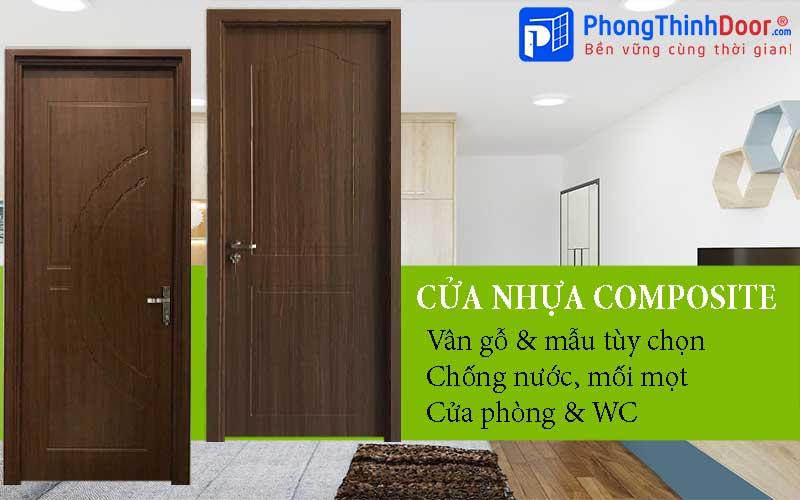 cửa nhựa gỗ composite giá rẻ