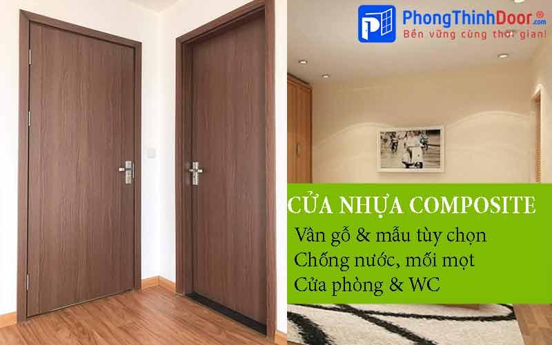 cửa thông phòng nhựa gỗ composite